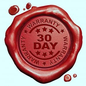 mckenzie friends club 30 Day Guarantee red wax seal